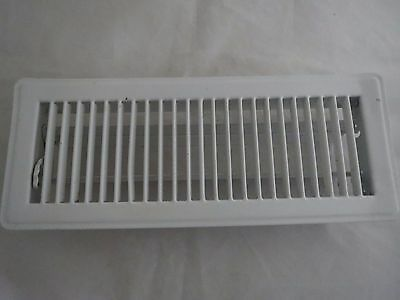 white metal heat /Ac air vent register