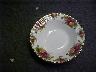 Royal Albert Old Country Roses ENGLAND Soup Bowls (Set Of 4) MINT