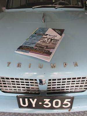 NEW Triumph Herald Illustrated Timeline book
