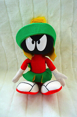 "Looney Tunes- 1994 Applause MARVIN the Martian 12"" Bendable Poseable Plush"