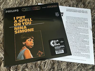 Nina Simone - I Put A Spell On You - Sealed Vinyl LP + Download
