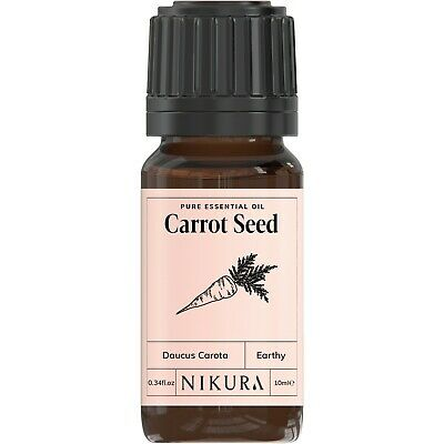 10ml CARROT SEED ESSENTIAL OIL - 100% Pure and Natural (Aromatherapy)