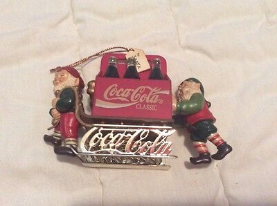Coca Cola Collectible Ornament Bottling Works