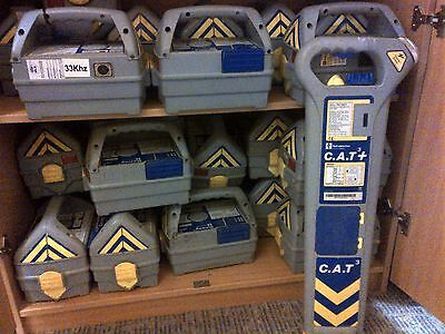 RADIODETECTION CAT3 DEPTH) CABLE LOCATOR - 12 months GENUINE RD calibration