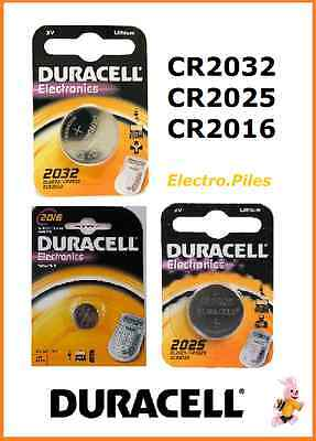 Piles/Battery bouton lithium Duracell CR2032/CR2025/CR2016, Free Shipping !!
