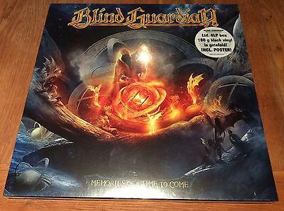 Blind Guardian Memories of a time to come 4 LP black vinyl limited edition mint