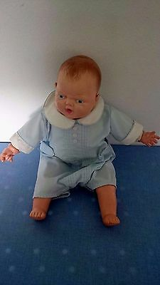"Vintage Ideal Baby Doll 16"" With Vintage Alexis Preemie Outfit Usa"