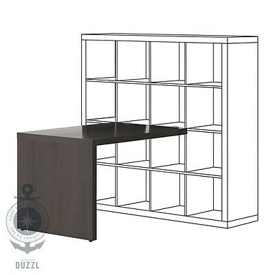 ikea schreibtisch bekant ecktisch rechts schwarzbraun schwarz eur 8 50 picclick de. Black Bedroom Furniture Sets. Home Design Ideas