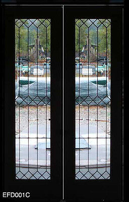 Beautiful Traditional  Leaded glass Heritage  interior doors or pocket doors