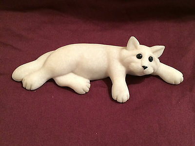 "Quarry Critter Light Grey ""Chelsea"" Lazy Cat Second Nature Designs"