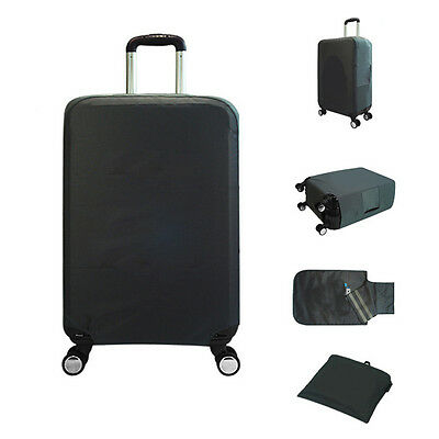 """1 X 28"""" Travel Trolley Luggage Protector Dust-Proof Elastic Suitcase Cover Bag"""