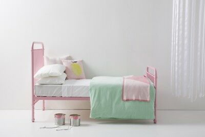 Incy Interiors Pink Metal Polly bed - Full
