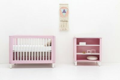 Incy Interiors Pink Wooden Teeny change table - Pink