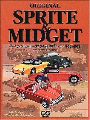 ORIGINAL SPRITE & MIDGET Austin Healey Sprite&MG Midget 1958-1979 Perfect Book