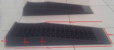 Low rise lowered race car ramps Low profile service ramps HAPP R1