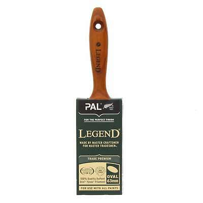 Paint Brush 63mm Oval Legend Sequence DuPont Tynex Filament Blend Smooth Tip