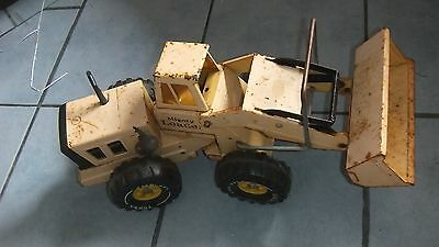 Collectable Old Metal Tonka Mighty Loader Bulldozer