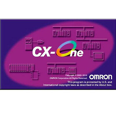 Omron PLC Programming CX-One 4.4 and Programming Cable