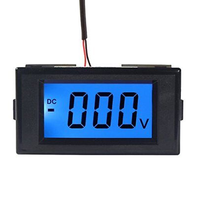DROK Digital Voltmeter Gauge DC 0-600V Voltage Meter Gauges Power Supply AC/DC