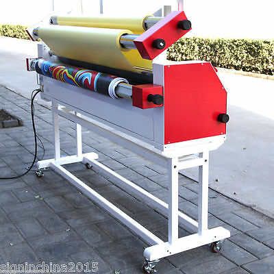 "63"" Full - auto Wide Format Roll Heat Assisted Cold Laminator with Stand-by SEA"