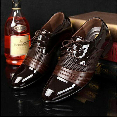 Men's Dress Formal Oxfords Leather shoes Business Dress Casual Shoes Pointy toe