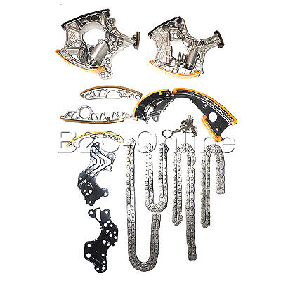 (13PCS)  1*Set of TIMING CHAIN KIT WITH CHAIN TERNSIONERS FOR Audi 2.4L V6 3.2l