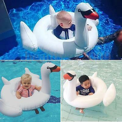 White Swan Summer Lake Swimming Water Pool Giant Rideable Inflatable Float Toy