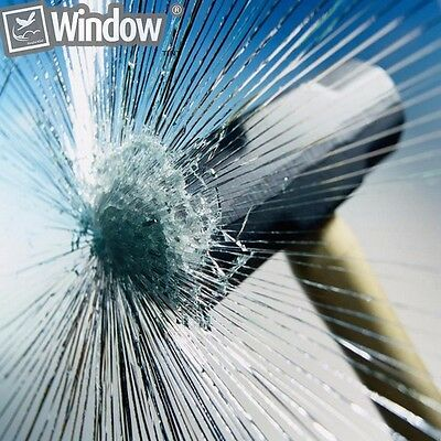 2/4/8mil Window Film Security and Safety Clear Film for Safety Protection
