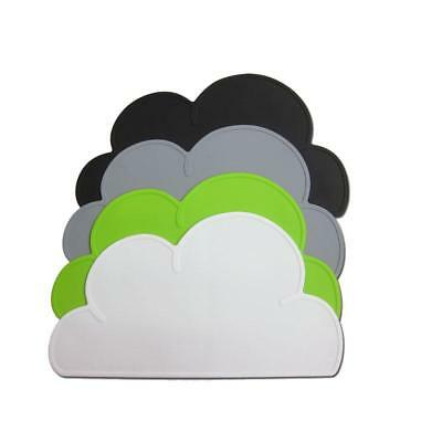 New Fashion Cloud Silicone Children meal plate Mat Breakfast Dinner Placemat