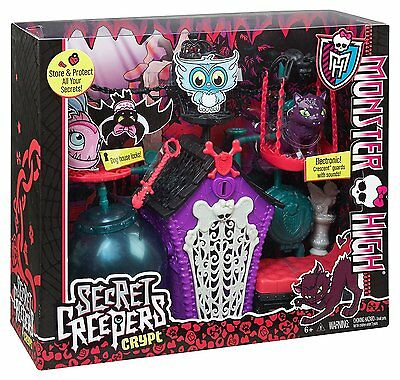 Monster High Secret Creeper Crept Crypt, Electronic Sounds, Mattel Toy Gift BNIB
