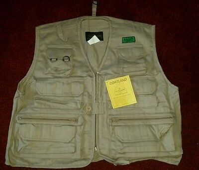Cortland Fly Vest New Unused Size L