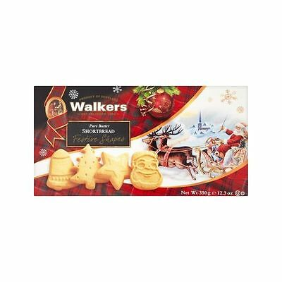 Walkers All Butter Shortbread Festive Shapes 350g