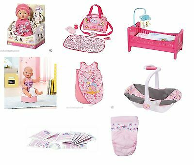 New Zapf Creation Baby Born Doll Deluxe Toy Collection Range Playsets