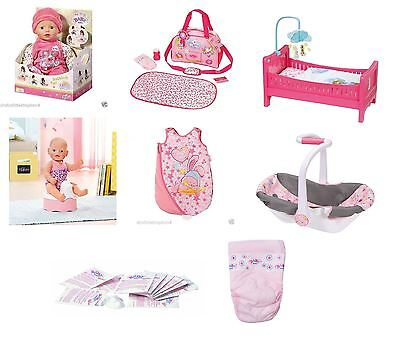 Zapf Creation Baby Born Doll Deluxe Toy Collection Range Playsets