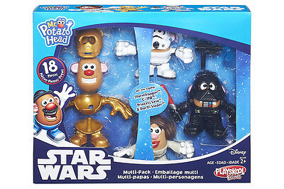 Mr. Potato Head Star Wars Mini Mashers 4 Pk from Hasbro B5145