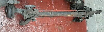 Peugeot 206 rear axle beam with drums non abs type