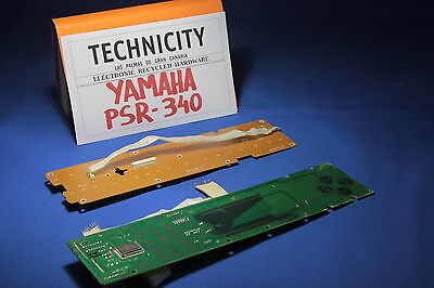 Yamaha Psr 340 - Main Board Buttoms - Placa Panel  Botones - Original - Tested