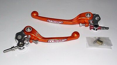 Ktm Sx 65 65Sx Orange Flexi Lever Set Brake & Clutch Sx65 2012 2013 Asv