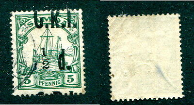 Used Samoa #102var with MISPLACE SURCHARGE (Lot #12114)