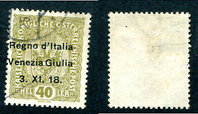 Used Austria - Italian Occupation #N10 (Lot #11958)