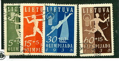 Used Lithuania #B43 - B46 (Lot #12051)