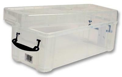 Multi-Use Clear Storage Box with Lid, 6.5 Litre - 160 x 180 x 430mm