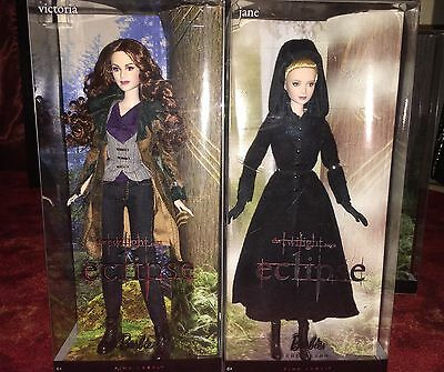 NRFB Twilight Barbie Doll Lot Victoria & Jane