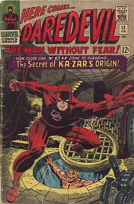Daredevil (Vol 1) #  13 Very Good (VG) Marvel Comics SILVER AGE