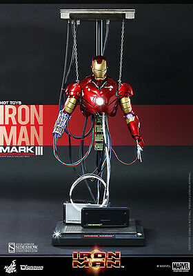 Iron Man - Mark Iii 3 Construction Hot Toys 1/6 Actionfigur Sideshow