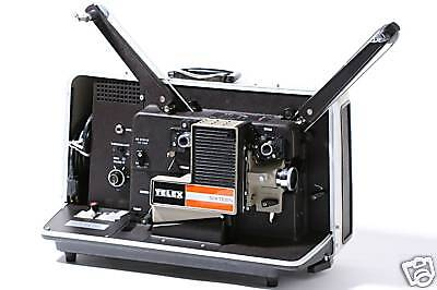 TELEX AS-25A 16mm Sound Projector extras UNUSED MIB NOS!