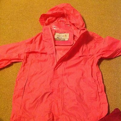 Regatta Isolite, Pink,waterproof & Breathable Light Weight, 11/12Yrs & 5/6Yrs
