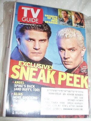 AMERICAN TV MAGS FEATURING SPIKE AND ANGEL COVER plus snippets in others