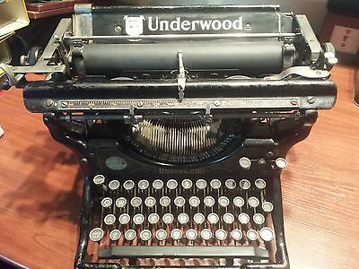 Underwood Typewriter (Year 1928).