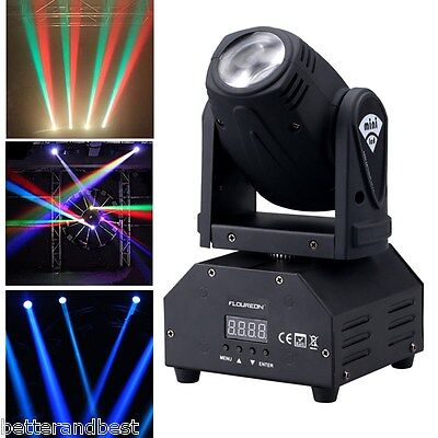 30W LED Stage Light Water Wave Effect Projector Pool Disco Party Club Lighting